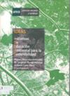 Portada Ideas, iniciativas de educación ambiental para la sostenibilidad
